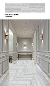 De houten Tegel van de Vloer van de Ruwe Oppervlakte van de Tegel Ceramische voor de Decoratie van het Huis (800*150mm)