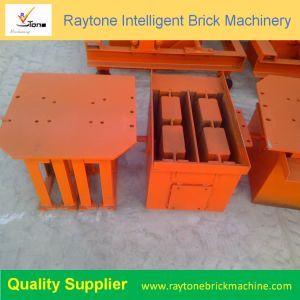 Funcionamento simples4-26 Qt do Intertravamento Pavimentadora porosa máquina para fabricação de tijolos ocos