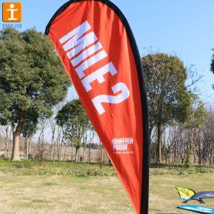 Логотип компании рекламных блейд-Бич флаг ветра (TJ-41)