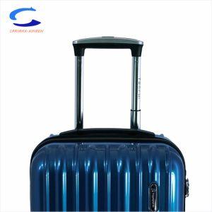 China Nueva Rush 30 de la PC Azul Hardside acabados de superficie de la rueda de ruleta de gran capacidad de llevar la maleta de viaje fácil la elección de equipos aprobados de la TSA Equipaje carro