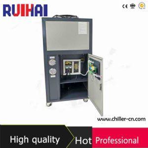 6HP/ 5RT o uso da máquina de plástico Eco-Friendly Refrigerante R407c Chiller de Água Industrial arrefecido a ar