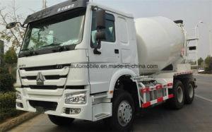 HOWO 10 ruedas de 10m3 de concreto Camión Mezclador de Tambor para la exportación