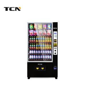 Npt de leite automática inteligente Snack fabricante da máquina de venda automática de bebidas com casca preta