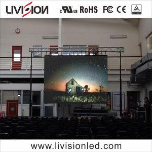 Schermo dell'interno del video della video visualizzazione LED di alta qualità di attività P2.9 di concerti