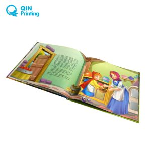 品質の驚くばかりのフルカラーのハードカバーの児童図書の印刷サービス