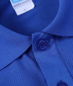 Trockener Sitz-Ineinander greifen-Zoll/kundenspezifisches deutlich kleiden/Streifen-Drucken/Stickerei-Kleid-Baumwollpikee 100%/Golf-Polo-Hemden der Jersey-Kleid-Männer