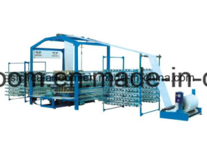 Four-Shuttle telar Circular para PP Bolsa tejida máquina Macking