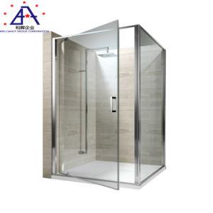 Sala de ducha de cristal personalizado o cabina