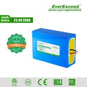 Batterie solaire Batterie LiFePO4 12V 30Ah 40AH 50Ah 100AH Batterie au Lithium Pack pour Rue lumière solaire