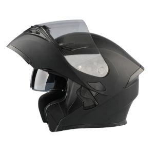 2020 Nuevo Material ABS de casco abatible doble Visor Casco moto