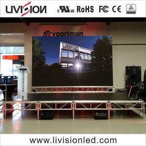 Evento de Interior de alumínio de fundição de bicicleta LED de Vídeo Wall P3.9/4,8 levou a exibição de vídeo sobre venda