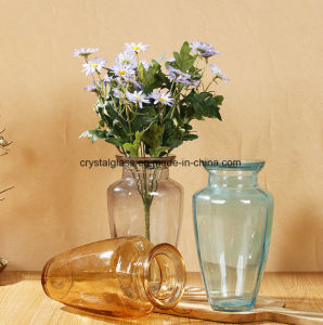 Подкрашенная вода завод мебелью статей стекла Craft цветочные вазы