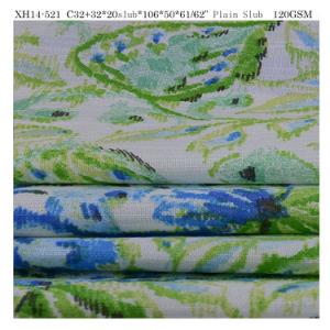 Fashion imprimé tissu ordinaire des tissus pour vêtements 100 Tissu de coton