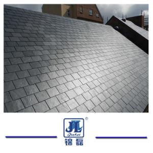 中国の高品質のフロアーリングの屋根ふきのための自然で黒くか灰色または緑のスレートのタイル