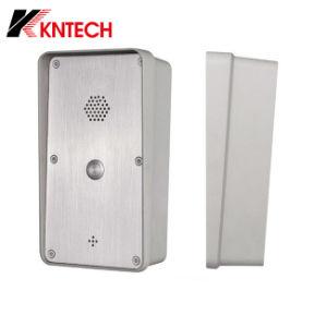 Teléfono de la puerta VoIP Sistema de Control de acceso a la puerta Knzd-45 teléfono exterior