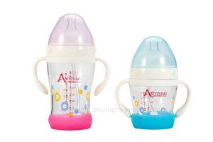 Colic Säuglingsglasantibaby-führende Milchflasche mit Hersteller