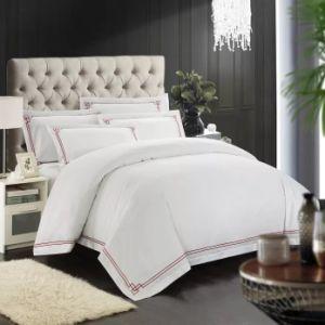 2018組の卸売の100%年の綿の刺繍のホテルの寝具セット(JRD198)