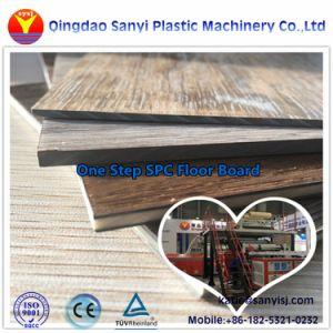 La Chine un revêtement de sol en vinyle PVC RVP SPC Revêtements de sol en vinyle de la machinerie en plastique
