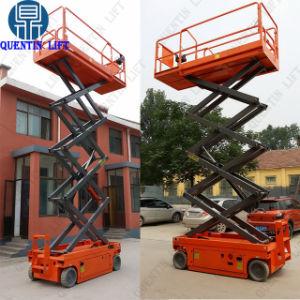 De Elektrische Lijsten zonder chauffeur van de Lift van de Schaar/Type Propeled Van uitstekende kwaliteit van Platform van de Lift van de Schaar het Zelf