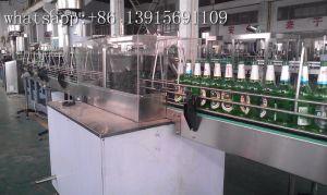 自動2000bphによってリサイクルされるガラスビンの洗濯機
