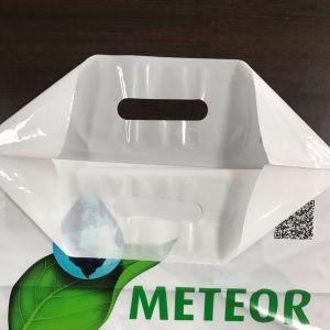 Fabrik-direkter Import-Zoll gestempelschnittener Plastikeinkaufen-Geschenk-Beutel Hf1049