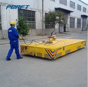 Elektrische Schiene, die Fahrzeug-batteriebetriebene Transportvorrichtung für schwere Eingaben handhabt