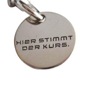Kundenspezifisches preiswertes Eisen-Diagramm der Universum-Laufkatze-Scheinmünze Keychain (022)