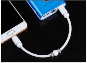 Câble de données Creative Bracelet Bracelet Fluorescent ligne Android Apple Câble de données de type C
