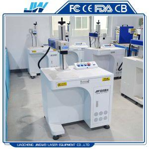 Nonmetal van het Metaal van de Desktop 20W 30W 50W de Teller die van de Laser van de Vezel van de Prijs van de Fabriek Machine merken