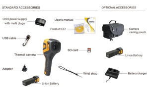 Руководство пользователя B320V портативный инфракрасный тепловой формирователь изображений, портативное устройство тепловой обработки изображений камера для промышленных поиск и устранение неисправностей с ИК-резолюции 320*240