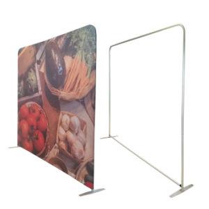 Telón de fondo de 8 pies de aluminio portátil stand Stand Banner