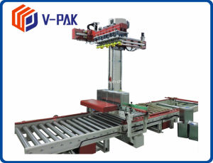 Automatischer Beutel Palletizer für Mehl-Verpackungsfließband Wj-SMD-8