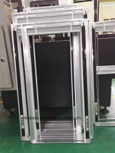 Bastidor del Sistema magnético de persianas para su acristalamiento Doble Vidrio