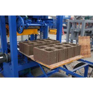 Pavimentadora de tijolos de cimento bloco do preço da máquina na Índia