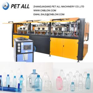 Completamente automática máquina de moldeo por soplado de servo de cola botella