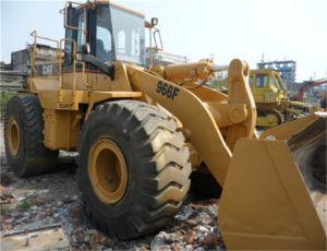 De gebruikte Lader van het Wiel van de Rupsband van Japan Wheelloader 966f Kat Gebruikte 966e 966f
