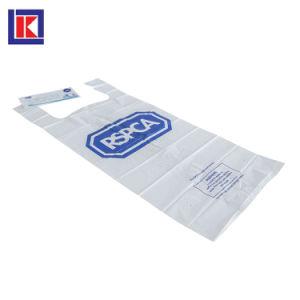 Catoon 패턴 디자인 자선 수집 t-셔츠 HDPE 부대