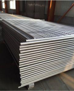 Tubo de acero galvanizado Panel valla temporal