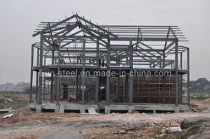 Estructura de acero de la luz de bastidor de la Villa de prefabricados