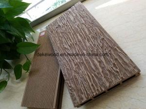 3D Деревянные зерна WPC декорированных пластмассовые деревянные без окраски, без клея