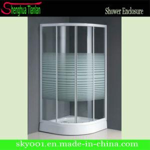 Новый дизайн ванной комнаты сдвижной стеклянной душевой кабинкой (TL-508)
