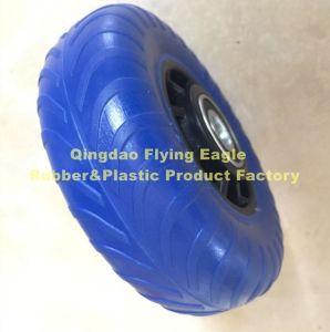 48X156 de goma de poliuretano (PU) Carro y la rueda de carro
