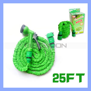 25ft/50ft/75ft/100ft Flexible Expandable Magic Natural Rubber Garten Hose Tube