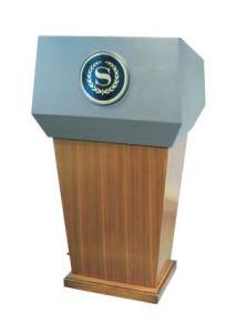 Suporte de fala de madeira sólida (DW46)