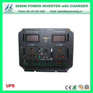 A elevada eficiência 2000W carregador UPS inversor com mostrador digital (QW-M2000UPS)