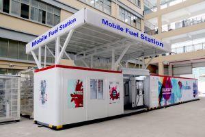 Estação de combustível móvel venda quente em 2018