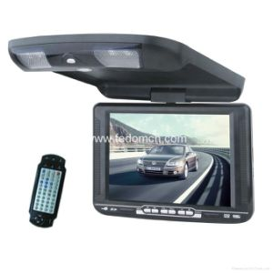 10.4inch TFT LCD Screen Roof Monitor DVD Player