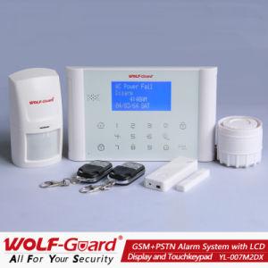 GSM Smart Alarm System con affissione a cristalli liquidi Display e Touchkeypad