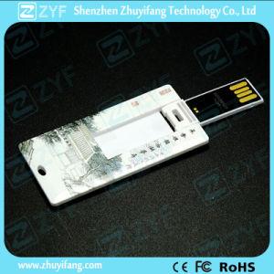 UDPチップ(ZYF1218)が付いている小型クレジットカードUSBのフラッシュ駆動機構
