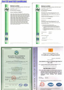 2016 Novo Modelo de venda quente 500kw preço do Conjunto de Geradores de gás natural